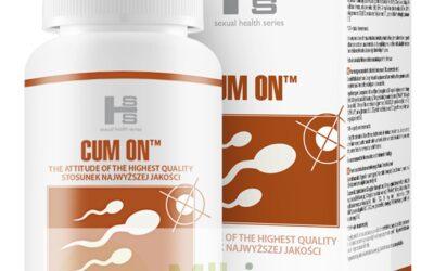Cum On – tabletki zwiekszajace wytrysk